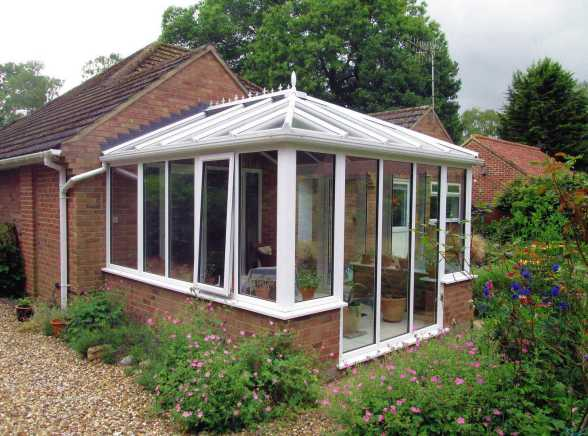 New Conservatory - Mr and Mrs R, Chedgrave
