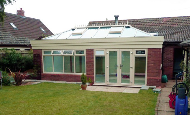 Horsford of Norwich, Norfolk - Building an Orangery