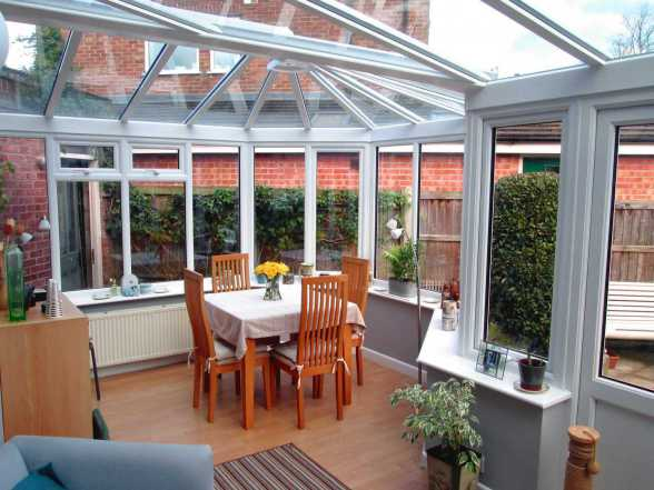 Horsford Conservatory interior