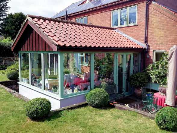 Recent Horsford Garden Room project