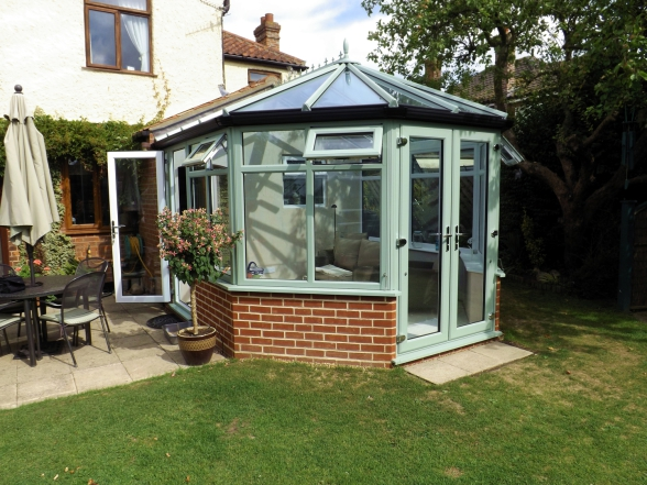 Finished Horsford Conservatory project