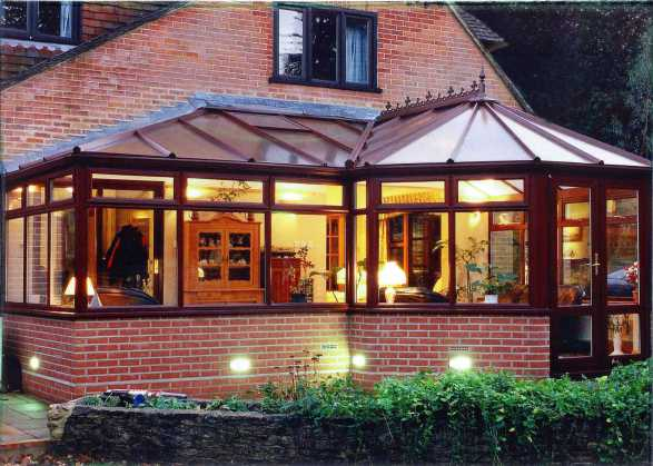 Conservatory project exterior