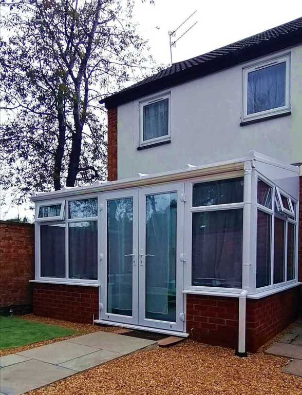Recent Horsford Lean-To Conservatory for LB