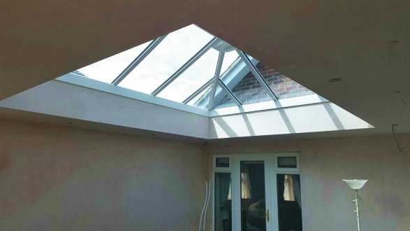 Horsford Orangery roof construction