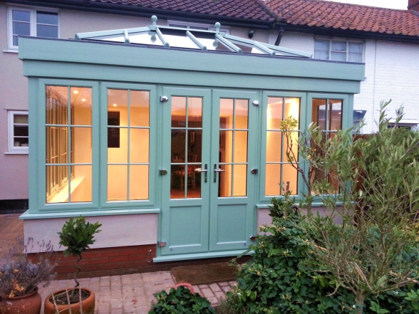 Finished Horsford Orangery project