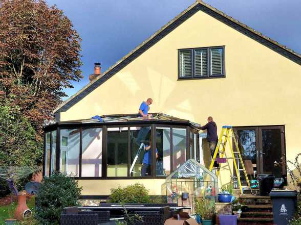 Roof replacement with Horsford fitters
