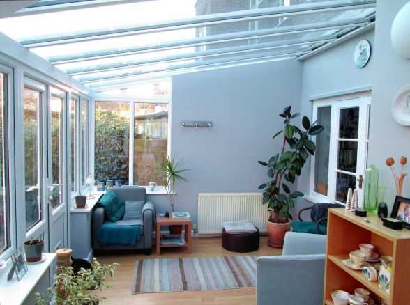 Horsford Lean-To Conservatory interior