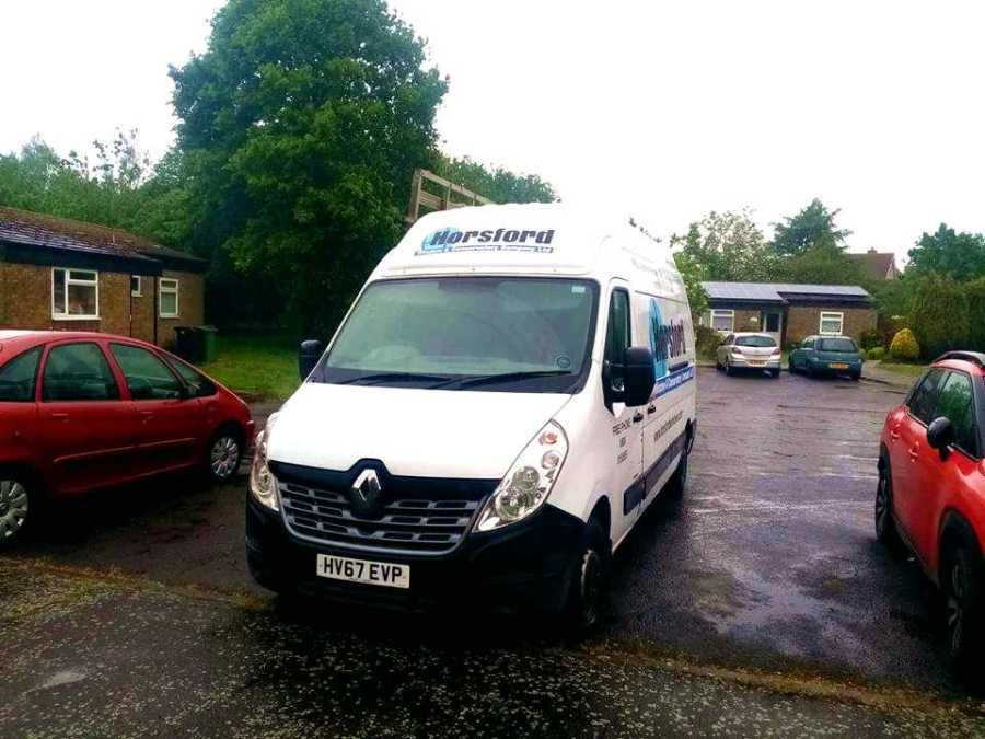 OUR VANS OUT AND ABOUT