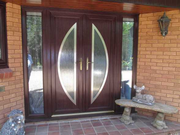 Modern French Entrance Door