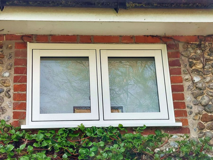 Recent Recent Horsford Black window installation