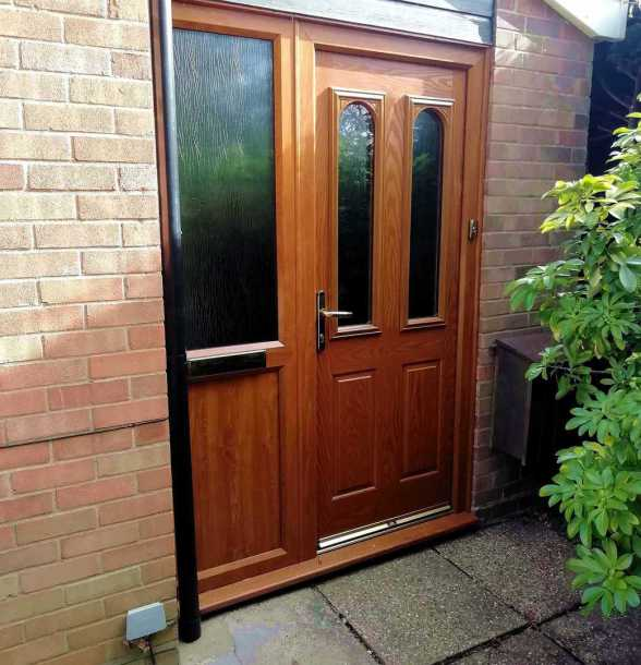 Horsford Composite door and side frame combination
