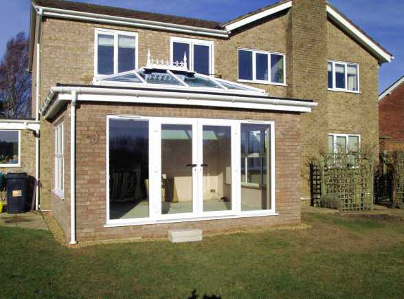 Horsford Orangery build