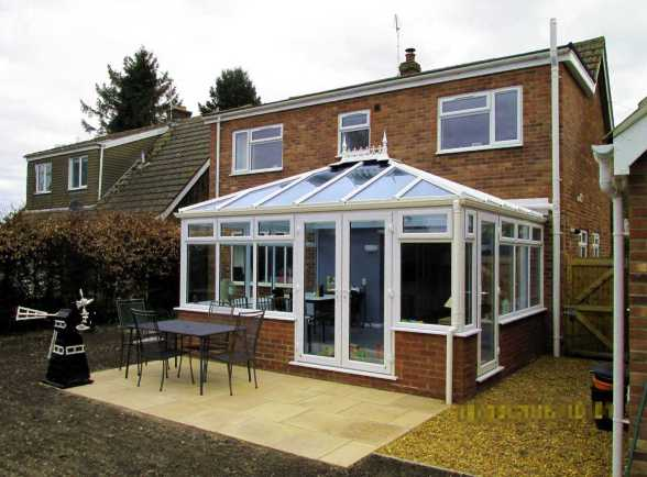Horsford Conservatory project exterior