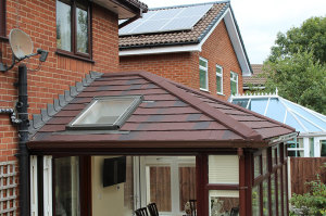 Horsford Warm Roof exterior