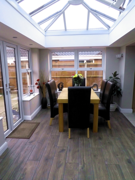 Horsford Orangery project interior