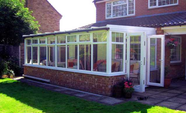 Horsford Lean-To Conservatory