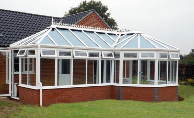 Horsford P-Shape Conservatory project