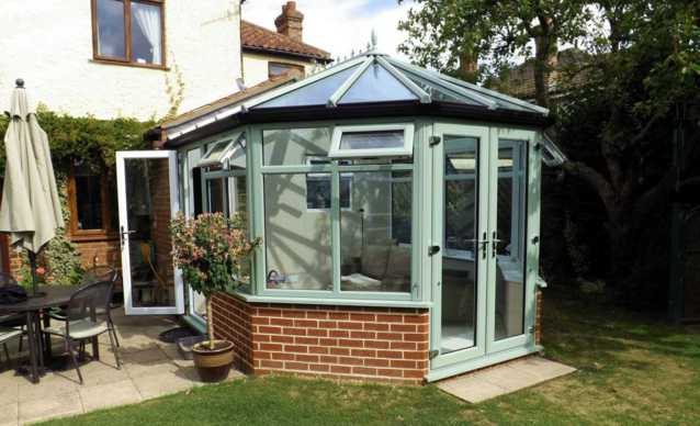 Horsford Victorian Conservatory project