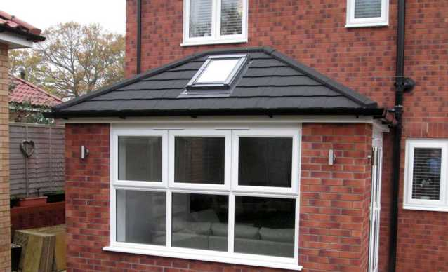 Horsford Warm Roof detail