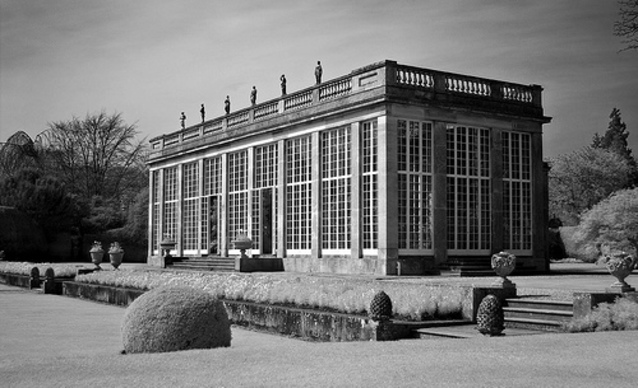 Traditional Orangery building